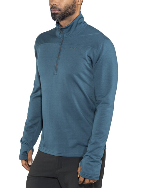 Craft M's Pin Halfzip Midlayer Fjord/Gravel